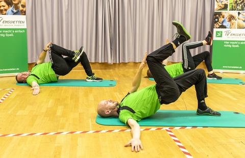 Anspruchsvolle Gymnastik - Das nächste Video ist online