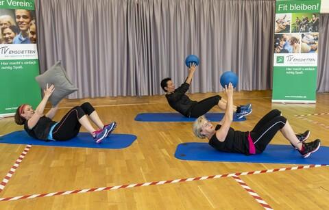 Übungen mit dem Pilatesball - Das neue Video ist da