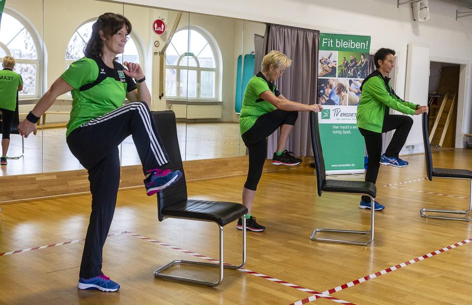 Fitnessvideo für zuhause - Morgen Gymnastik