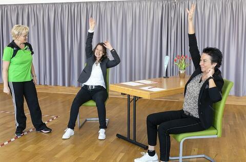 Sport für Homeoffice und Homeschooling - das nächste Video ist online!