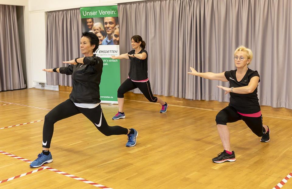 Indian Balance - das nächste Fitnessvideo ist online