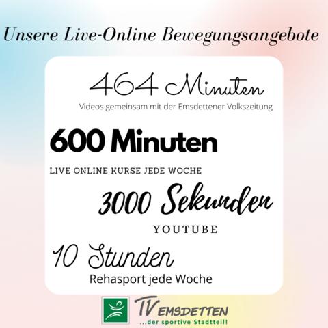 Live Online Übersicht